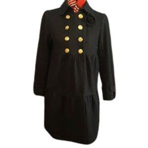 Juicy Couture Tier Double Breasted Peacoat  (S-M)